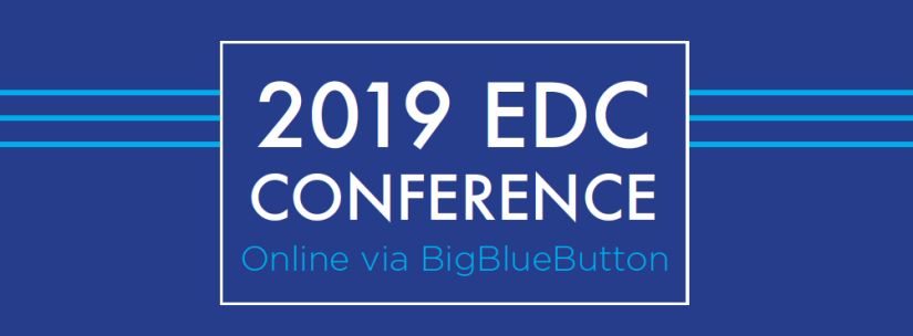 2019 EDC Conference word art